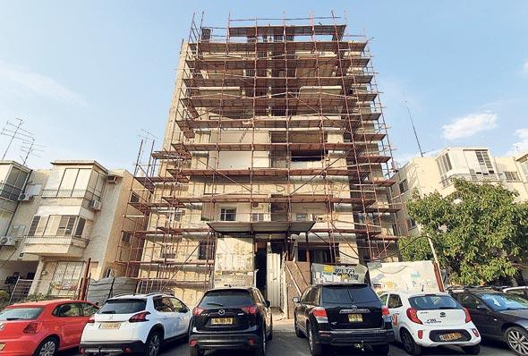 """הבניין ברחוב יהודה הנשיא 7 ר""""ג"""