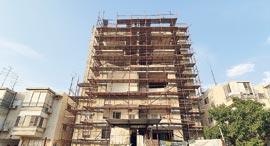 בניין ברחוב יהודה הנשיא 7, רמת גן, צילום: אוראל כהן