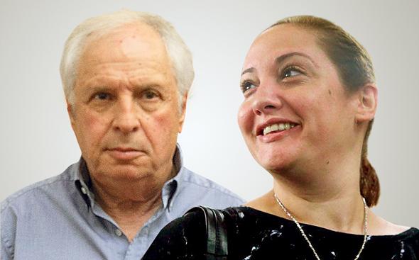 מימין לינור יוכלמן ושאול אלוביץ