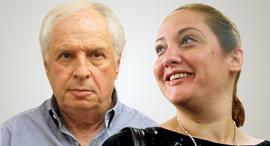 מימין לינור יוכלמן ו שאול אלוביץ', צילומים: מוטי קמחי, אוהד צויגנברג