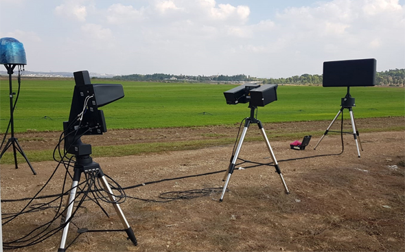 Skylock's counter-drone system. Photo: Skylock