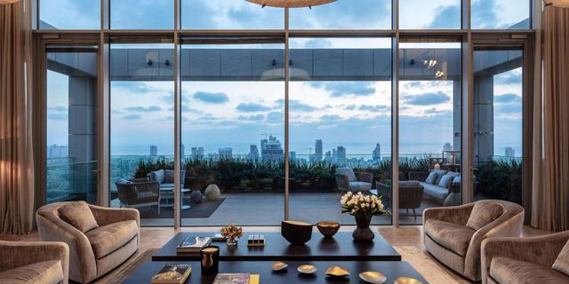 פנטהאוז טריפלקס מגדל G תל אביב למכירה, צילום: DOUGLAS ELLIMAN