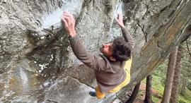 פנאי אלכס חזנוב מטפס קירות, צילום: Youtube