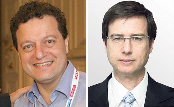 """מנכ""""ל לאומי חנן פרידמן ויו""""ר הבנק סאמר חאג' יחיא"""