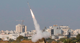 Israel's Iron Dome. Photo: AFP