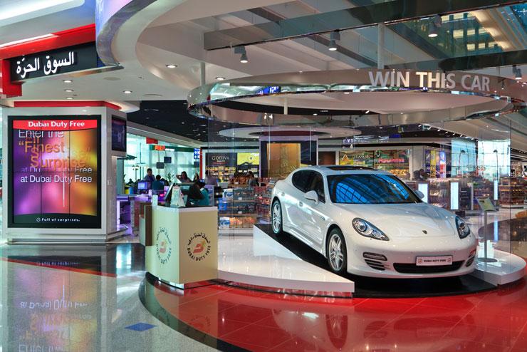 הדיוטי פרי בדובאי, בעל מחזור המכירות הגדול בעולם, צילום: שאטרסטוק