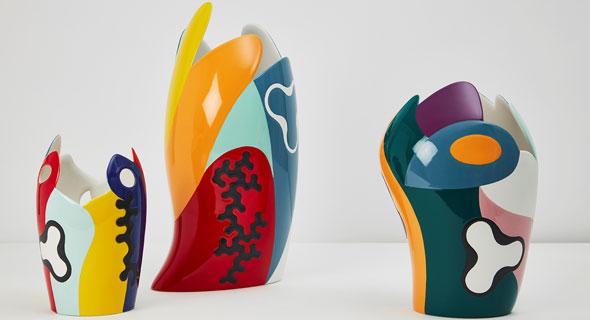 אגרטלים בעיצוב אלסנדרו מנדיני