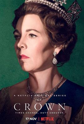 אוליביה קולמן כמלכה אליזבת