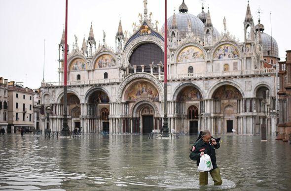 הצפה בונציה בשנים האחרונות