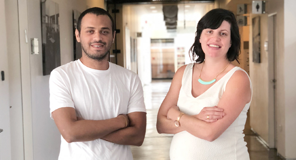 Cnvrg.io co-founders Yochay Ettun (left) and Leah Forkosh Kolben. Photo: PR