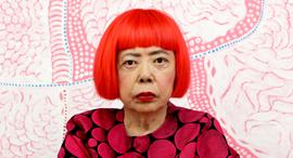 פנאי אמנית יפנית בת ה־90 יאיוי קוסמה , צילום: Courtesy Ota Fine Arts; Victoria Miro and David Zwirner