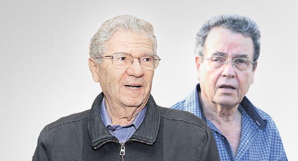 מימין: דניאל פרידמן ואהרן ברק. הציגו את הגורמים לירידה באמון הציבור במערכת המשפט