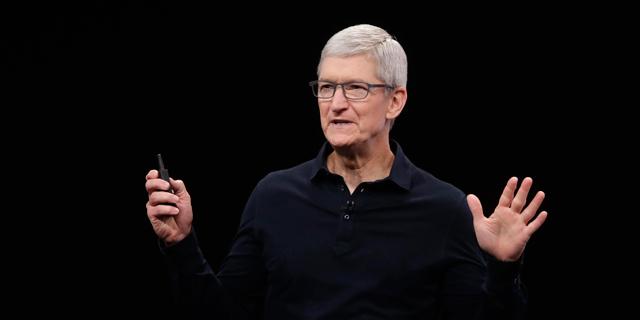 """טים קוּק מנכ""""ל אפל, צילום: איי פי"""