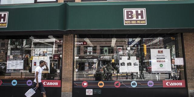 """תביעה נגד חנות הצילום והאלקטרוניקה B&H בניו יורק: """"העלימה מס במיליוני דולרים"""""""