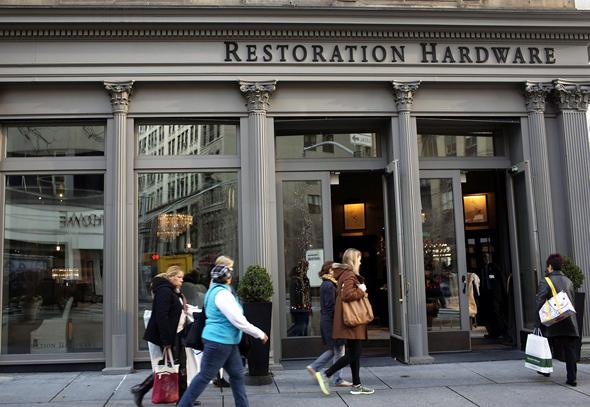 חברת Restoration Hardware, צילום: בלומברג