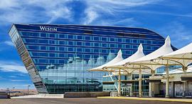 מלון ווסטין רשת מריוט נמל תעופה דנבר קולורדו, צילום: Marriott