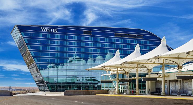 מלון ווסטין בנמל התעופה דנוור