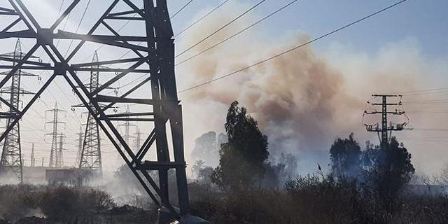 בשל שריפה: הופסקה תנועת הרכבות בין בנימינה לחדרה