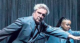 פנאי דיוויד ברן במופע American Utopia, צילום: Broadway