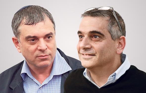 מימין אלי קמיר ו שלמה פילבר, צילומים: עמית שעל, אוראל כהן