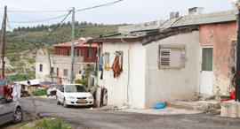 בנייה לא חוקית כפר ערערה, צילום: אסף פרידמן