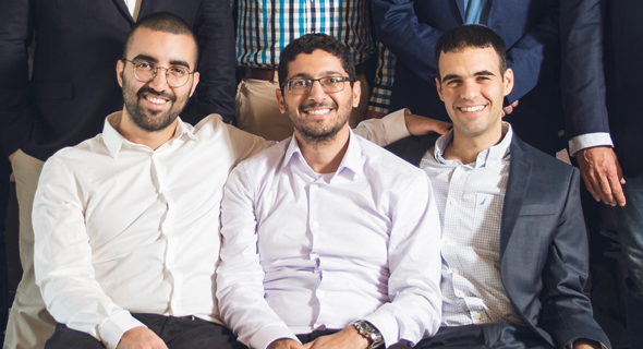 IntSights founders Gal Ben-David (left), Guy Nizan, and Alon Arvatz. Photo: PR