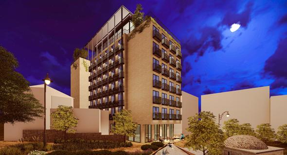 הדמיית המלון, הדמיה: פייגין אדריכלים