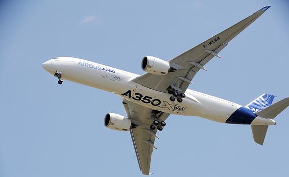איירבוס A350 אמירייטס קונה, צילום: איי אף פי
