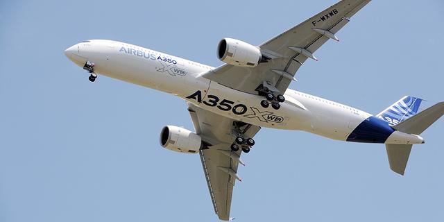 עסקת איירבוס: אמירייטס רכשה 50 מטוסי A350 בשווי 16 מיליארד דולר