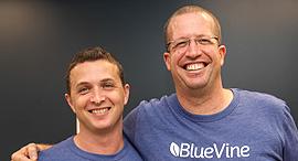 BlueVine: מימין ניר קלר ו אייל ליפשיץ , צילום: BlueVine