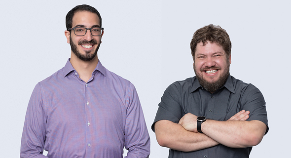 CyCognito co-founders Dima Potekhin (right) and Rob Gurzeev. Photo: Scott Kline