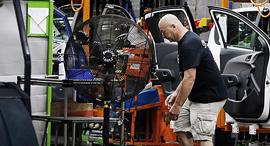 מפעל של GM במישיגן, צילום: בלומברג
