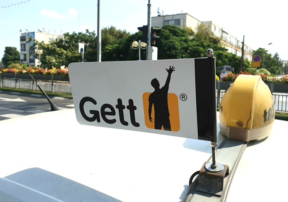 A Gett taxi. Photo: Shutterstock