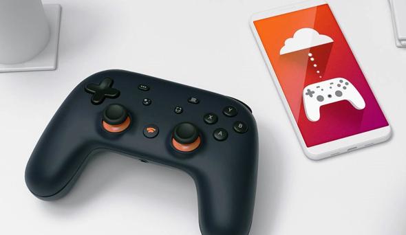 גוגל סטאדיה שלט משחקי מחשב סטרימינג, צילום: google
