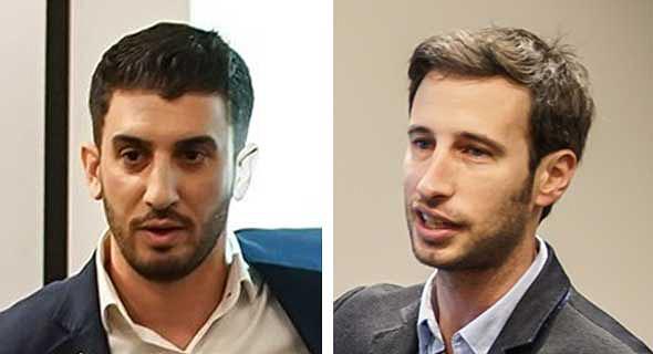 """אלירן תור (משמאל) ורוני פלטניק. """"בנינו קהילה, התלמידים ממשיכים איתנו גם להשקעות"""""""