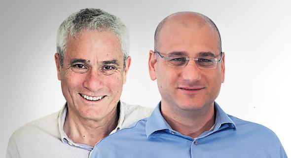 מימין: ארז רוזנבוך ומתי דב. התשואה לא מגיעה למשקיעים, צילום: שאול  גולן, צביקה טישלר