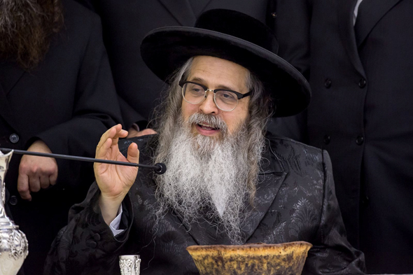 """האדמו""""ר מסאטמר הרב זלמן לייב טייטלבוים"""