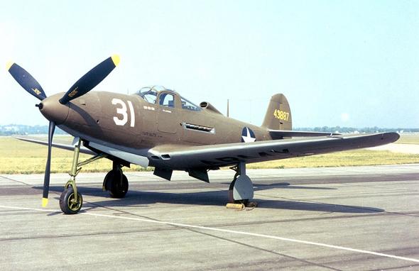 מטוס ה-P39 של חברת בל, צילום: USAF