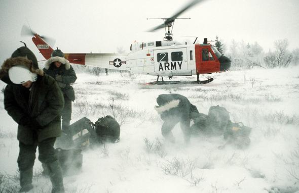 אפס מעלות בחוץ? המסוק בכל זאת יניע, צילום: U.S. Army