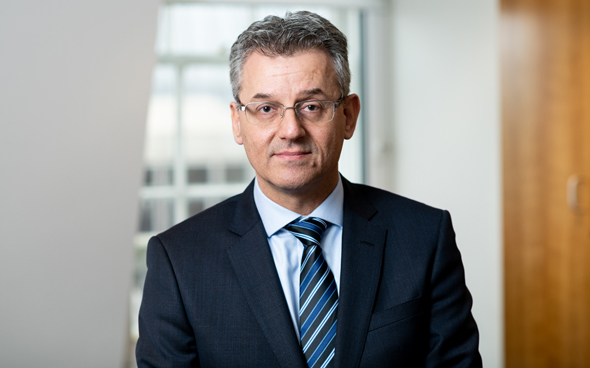 CEO of Bank Leumi, Gil Karni. Photo: Bank Leumi U.K.