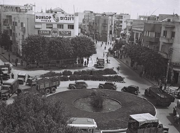 כיכר המושבות. שנות העשרים