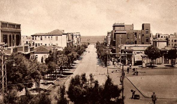 1927. מורד רחוב אלנבי אל הים