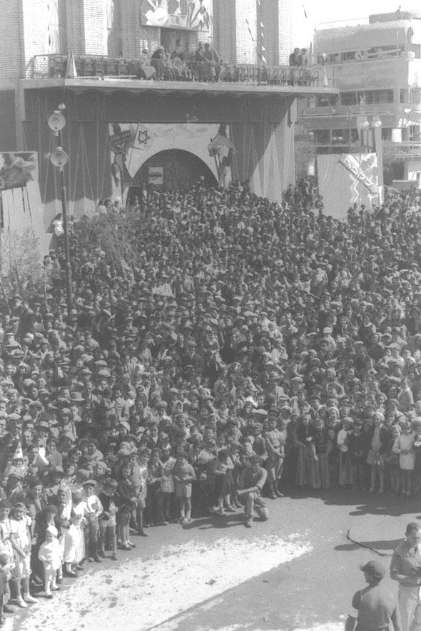 1934, חגיגות העדלאידע בתל אביב הצעירה