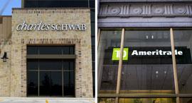 טי.די אמריטרייד וצ'ארלס שוואב. דיווחים על מגעים מתקדמים לעסקה, צילום: Bloomberg