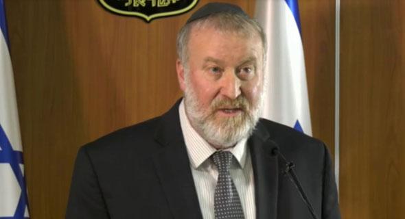"""היועץ המשפטי לממשלה אביחי מנדלבליט. """"השמן המניע את גלגלי התחרות"""", צילום: ynet"""