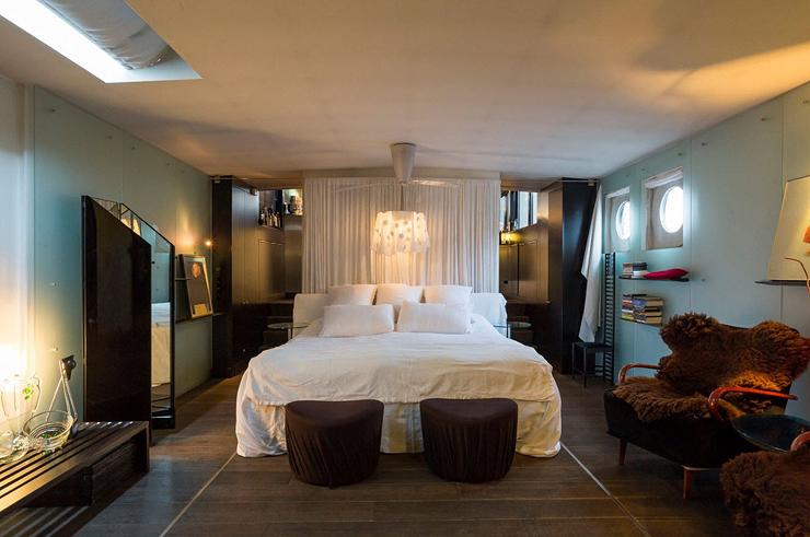 חדר שינה לבן, צילום: Netherlands Sotheby