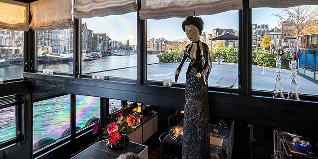 למכירה ב-1.5 מיליון דולר: סירת מגורים מפוארת באמסטרדם