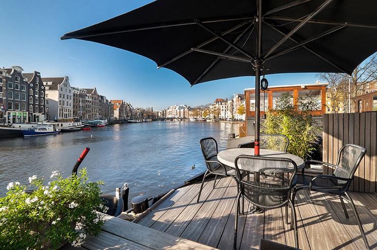סירת מגורים De Friese Franje למכירה, צילום: Netherlands Sotheby