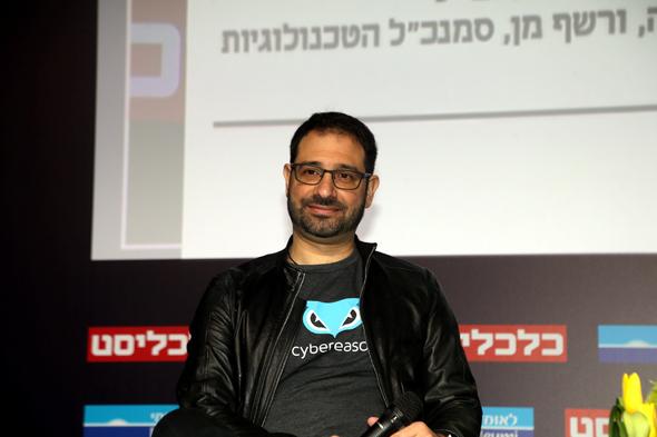ועידת Mind the tech TLV. יוסי נער מייסד משותף סייבריזן, צילום: יריב כץ