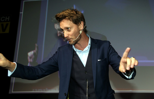 Israeli entertainer and self-described master mentalist Lior Suchard. Photo: Yariv Katz